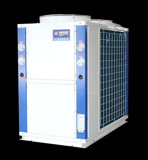 EVI system low temperature heat pump