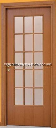 Glass Wooden Door