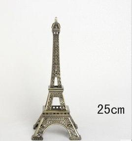 Hot sales  Eiffel Tower,Free shipping  home decoration tower /Size:25cm