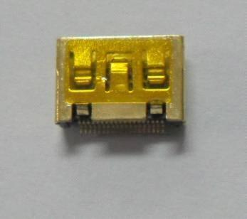 Mini HDMI C TYPE female with gold plating