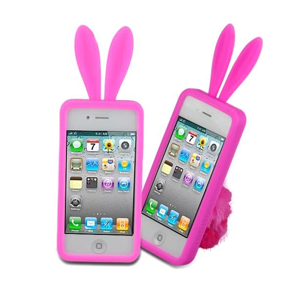 meet 1a5c3 b899d Rabbit Ears Silicone case for Iphone 4 from China Manufacturer ...