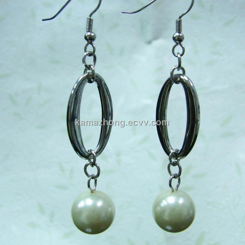 Simple style imitation jewellery designs fashion earring ...