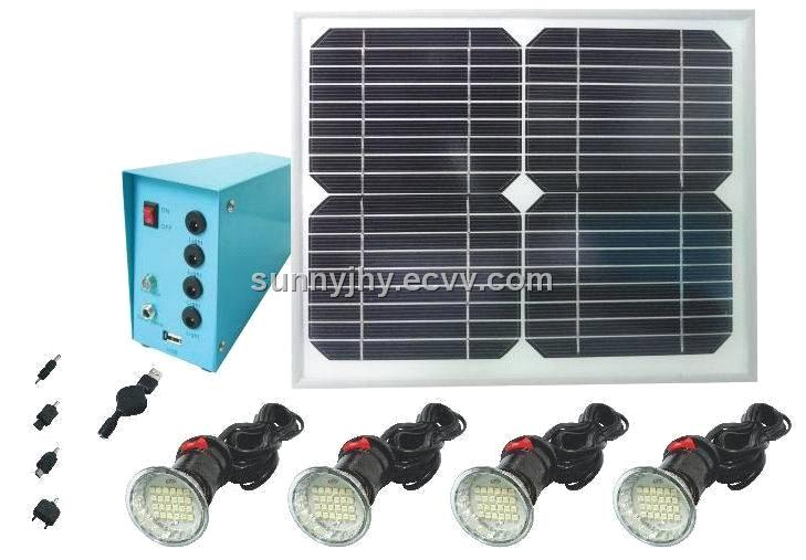 Tp203 Solar Home Lighting System 4pcs 3w Led Low Cost Energy Saving