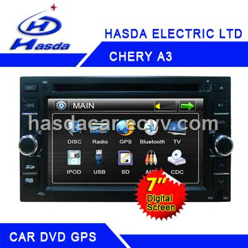 car dvd/gps chery a3