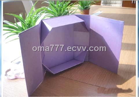 folded packaging paper boxes