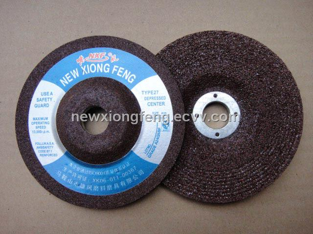 Depressed Center Grinding Wheel(100x6x16mm)