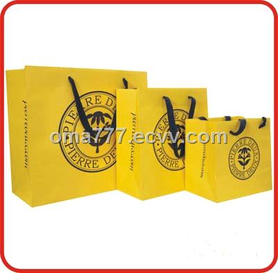 high quality promotion paper bag