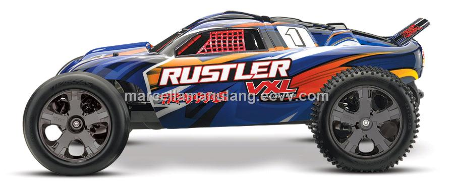 Traxxas Rustler VXL RC RTR with Brushless