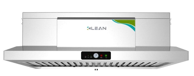 Kitchen Air Cleaner : All in one vent hood with electrostatic air filter for