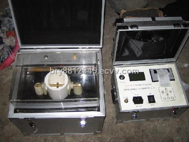 BDV transformer oil tester / oil testing machine for insulating oil / oil purifier