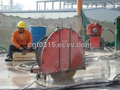 Diamond Wall Saw,Hydraulic Concrete Wall Cutting Machine and ...