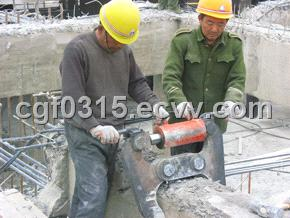 Hydraulic Concrete Crusher and hydraulic jaws for wall