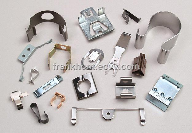 Custom Cable Clips : Metal spring clips clasps and clamps purchasing souring