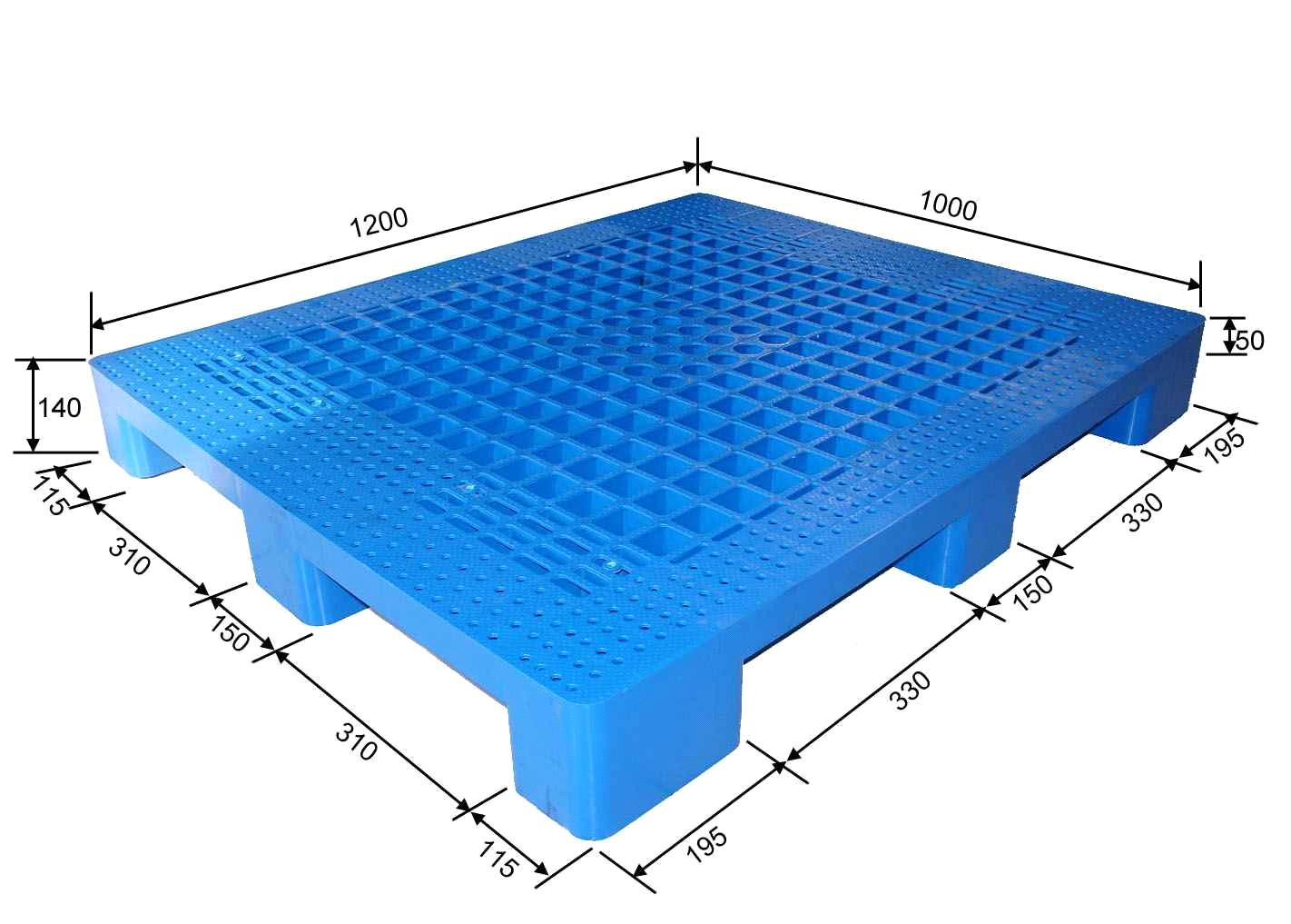 Plastic Pallet Used For Storage