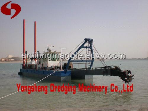 10 inch sand dredge with dredging depth 10m from China Manufacturer