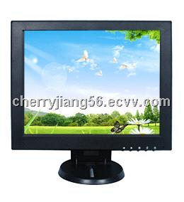12 inch TFT lcd display with VGA/AV input optional