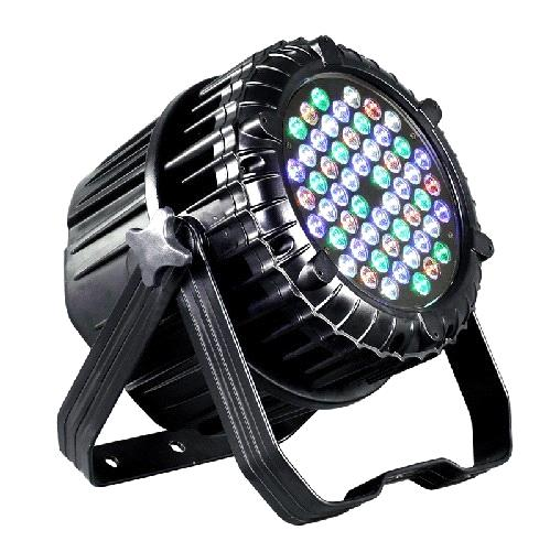 54*3w waterproof led Aluminium Die Casting PAR CAN,rgb+amber LED or rgb+warm white