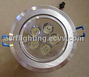 5*1w led spot light