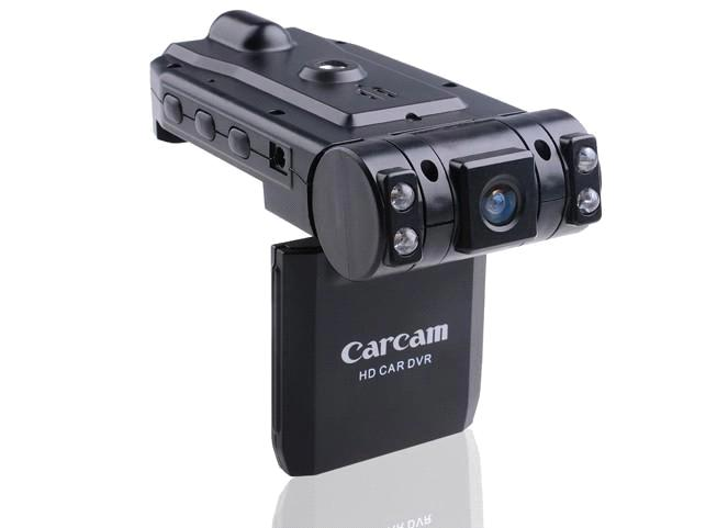 HD 720P Portable Car DVR with 2.5