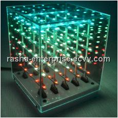 SMD1206 3 in 1 11*11*14cm(LWH) Laying 3D LED Cube Light,LED Display for Disco,Exhibition,Ba,Stage