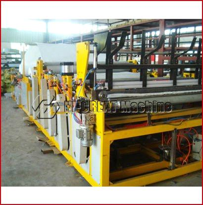 Toilet Roll Rewinding Perforating and Slitting Machine