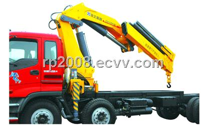XCMG SQ12ZK3Q knuckle boom type truck mounted crane