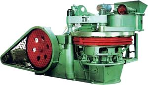 eight-hole rotary-table baking-free brick machine plant