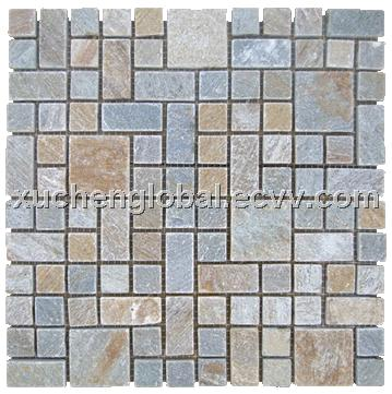 mosaic slate for interior and exterior wall house