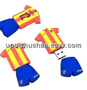 Gifts Real Memory 1GB-32GB Jersey USB Flash Memory Pendrive