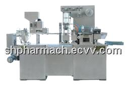 Travel Adjustable Flat-Plate Type Al-Pl-Packing Machine (DPP-138A)