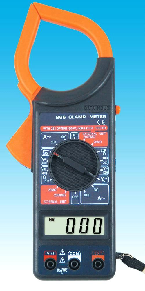 266 DT-266C digital clamp meter,alicate multimeter,dt266c clamp multimeter with temperature function