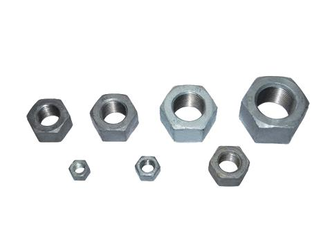 ASTM A563 Heavy Hex Nuts