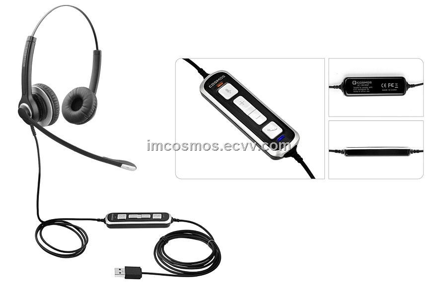 Call Center headset, usb headet, RJ9 headset from China