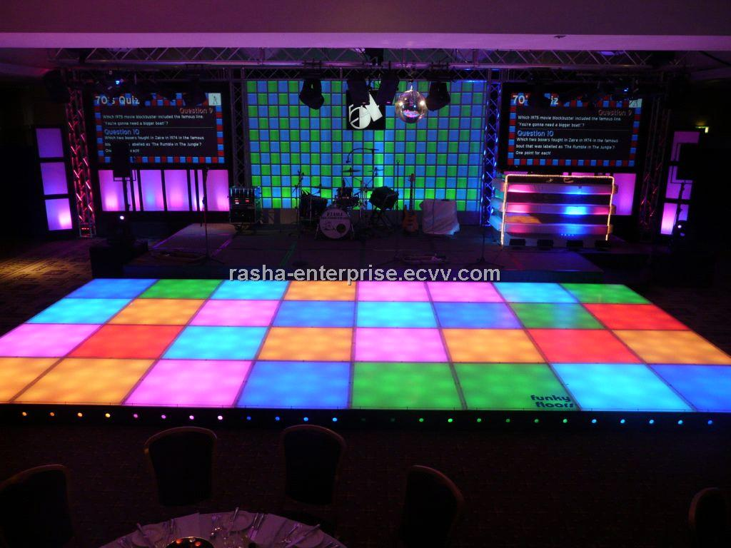 Dmx512 Led Dance Floor Led Video Dance Floor For Wedding