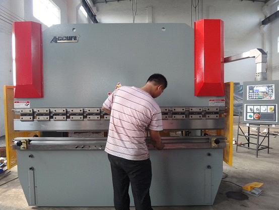 Hydraulic Metal Plate Brake Press / Metal Plate Press Break / Hydraulic  Plate Folding Machine