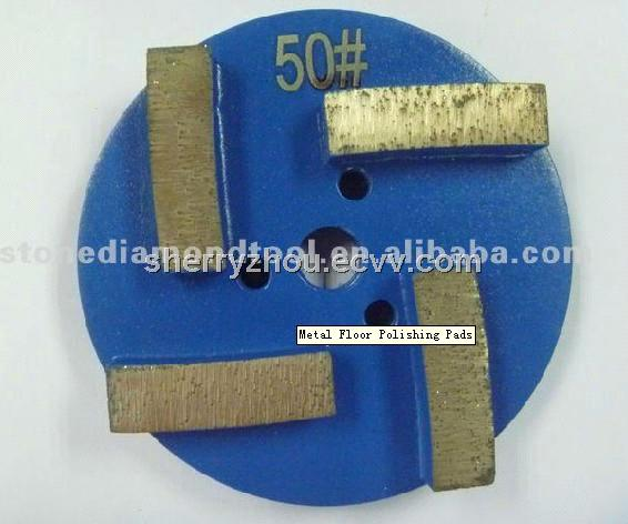 Metal Floor Polishing Pads