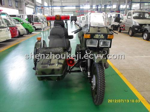 Motorcycle with Sidecar-Police Car from China Manufacturer