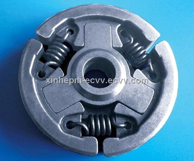 Sintered clutch of chainsaw parts in powder metal