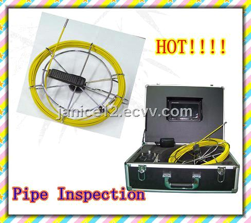 TEC-Z710DM 23mm pipe inspection camera ,sewer camera with DVR +7 inch monitor