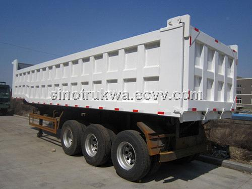THREE AXLE TIPPER TRAILER