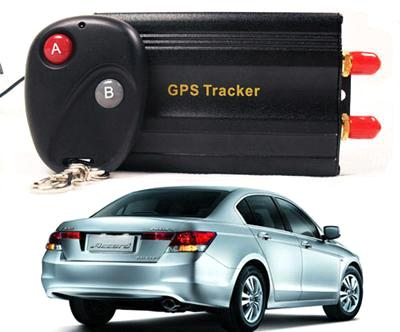 TK103B Car GPS tracker+ Remote Control Car Alarm Free Spanish Portuguese PC GPS tracking system