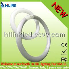 new design Samsung SMD5630 16W LED circular G10Q led tube
