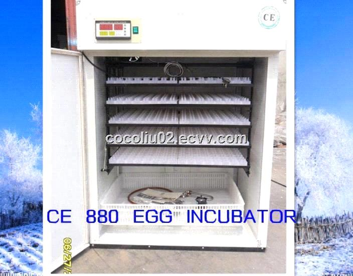 CE Lable Automateic egg  Incubators for eggs YZITE-9 880 eggs