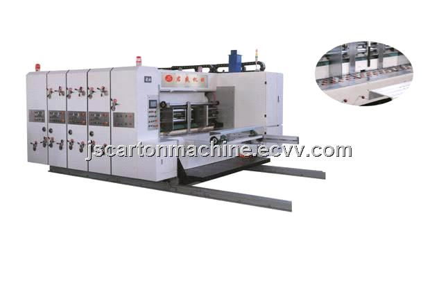 High speed flexo printing slotter(economic type)