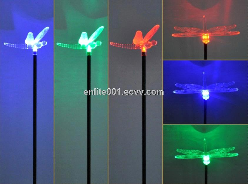 Delicieux Solar Garden Decoration Light,Multi Color LED Lamp,Acrylic Dragonfly  Design,8