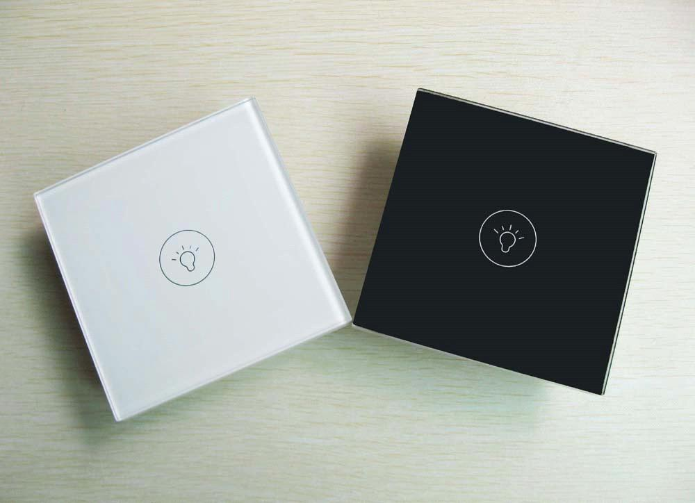 1Gang touch switch from MakeGood (White or Black Color)