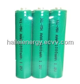1.2V 1000mah AAA NiMH rechargeable battery