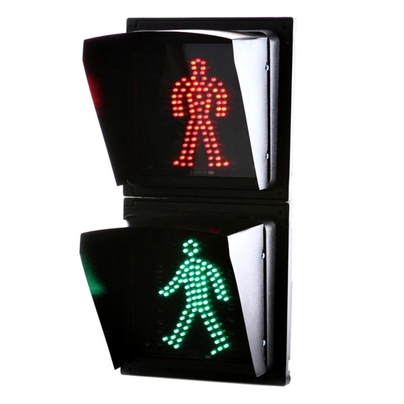 200mm Led Static Red Green Man Pedestrian Traffic Signal