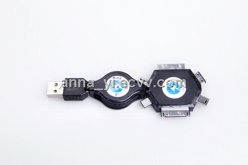 6 IN 1 charge cable (P1000)