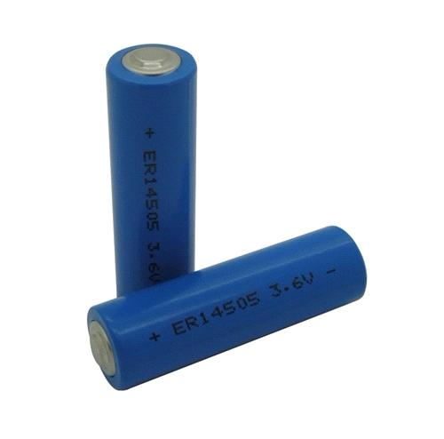 ER14505M 3.6V 2000mAh Primary Lithium Battery for Water Meters